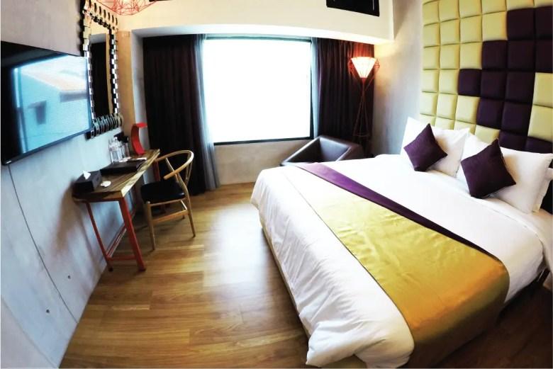 My Room at Le Dream Hotel. Photo Credit: Le Dream