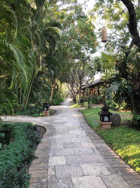 Grounds of The Hotel at Tharabar Gate