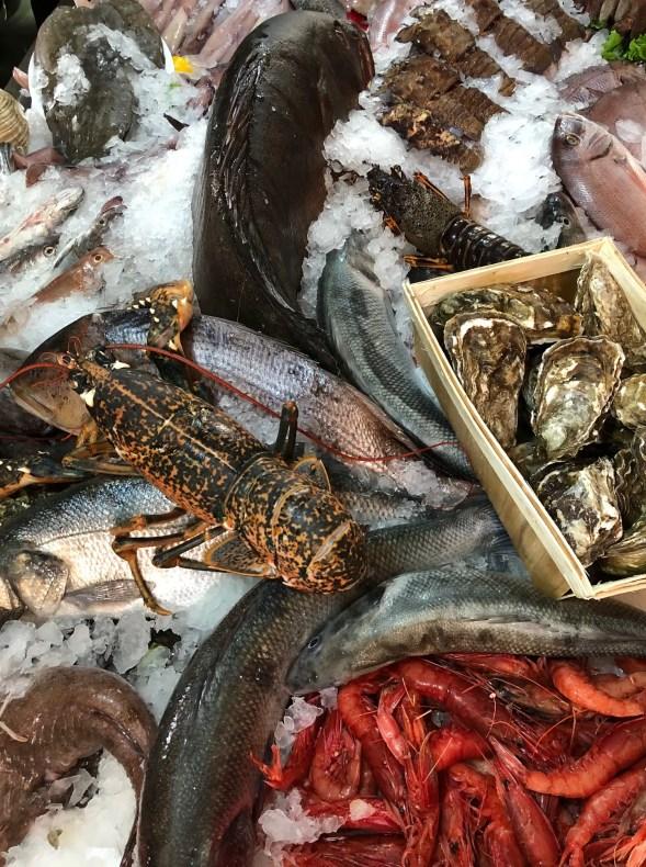 Seafood in Tirana