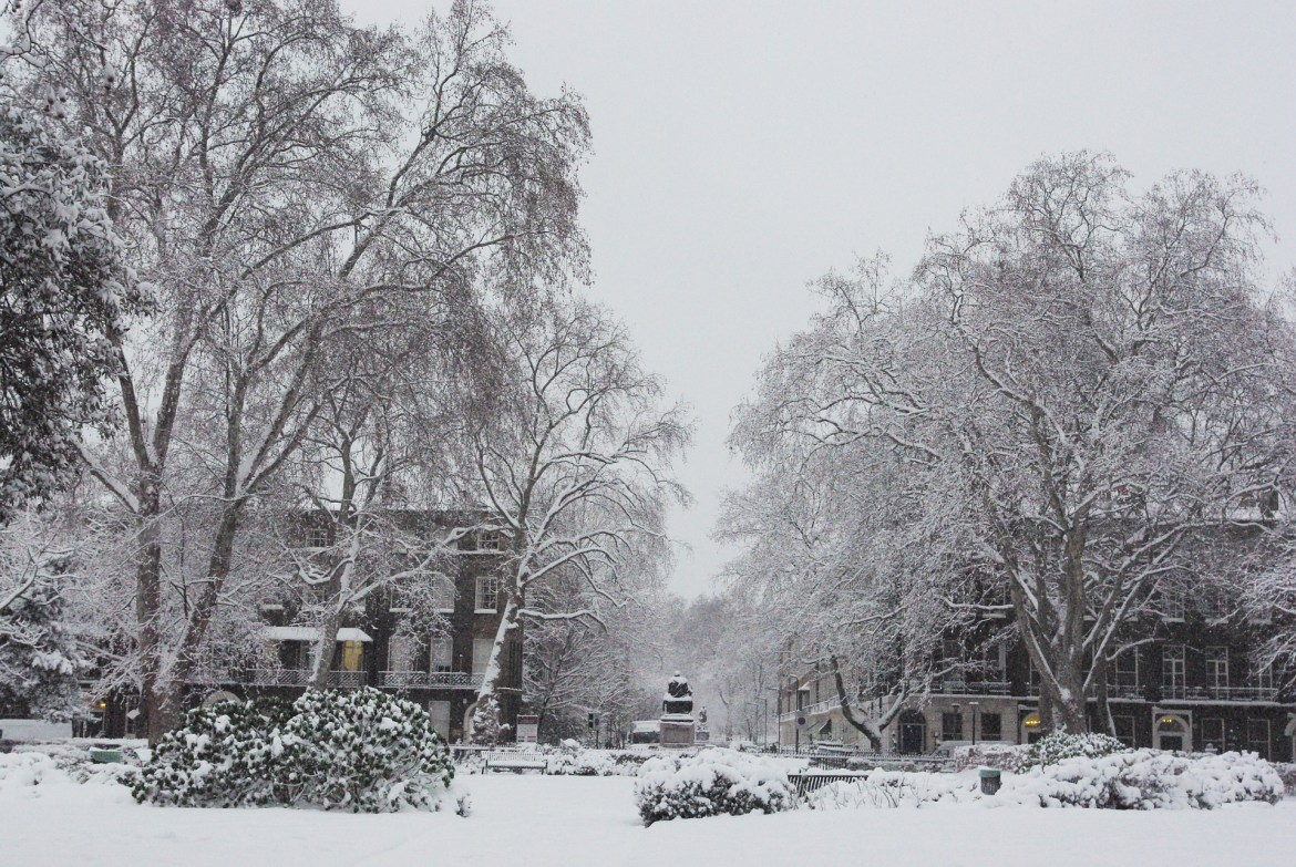 In winter, your London packing list just needs a few more things.