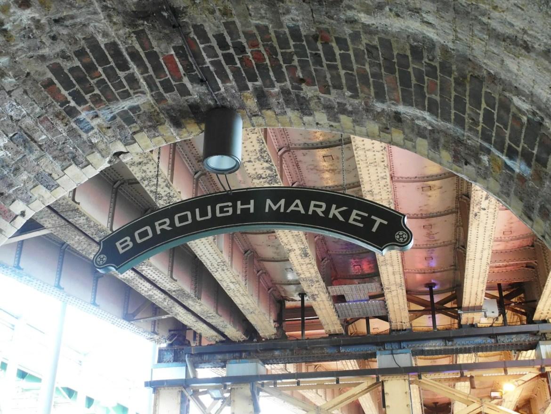 Many London food tours visit Borough Market