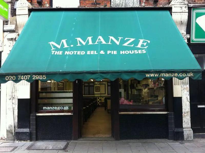 M. Manze Eel & Pie Shop