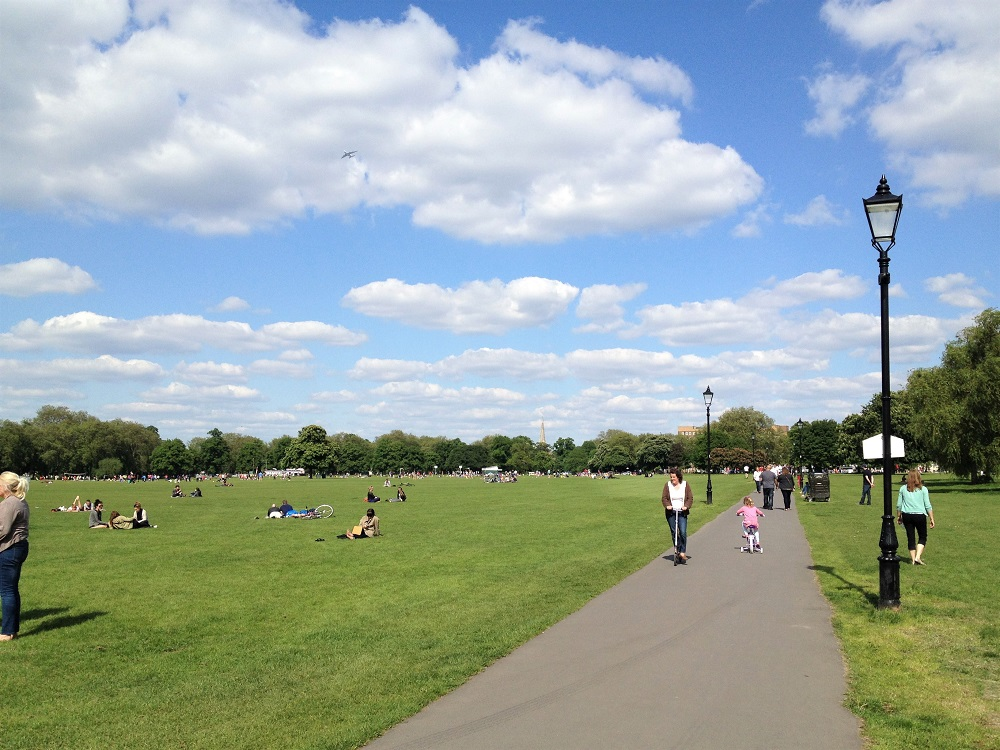 Lively Clapham Common