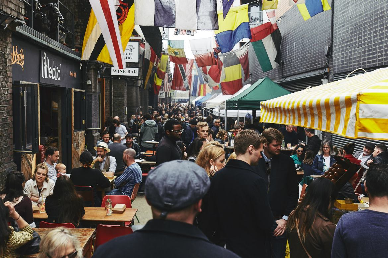 Maltby Street Market.