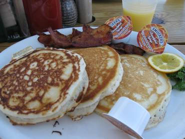 Bahia cabana pancakes