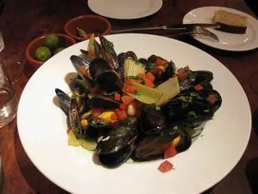 Boca di luppo mussels