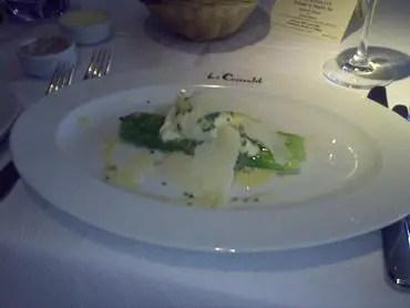 Le cassoulet asparagus