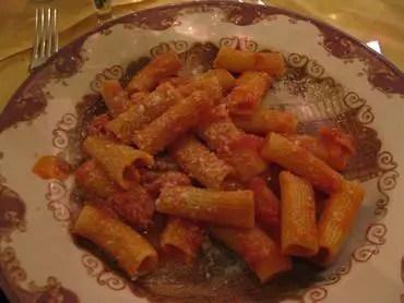 Alle fratte pasta
