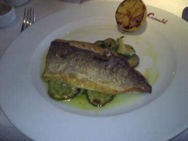 Le cassoulet sea bream