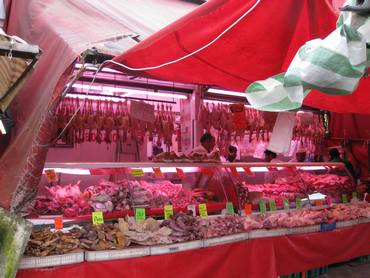 Ridley road market butcher