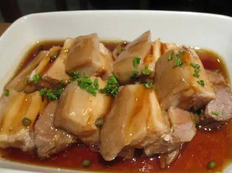 Dinings pork belly