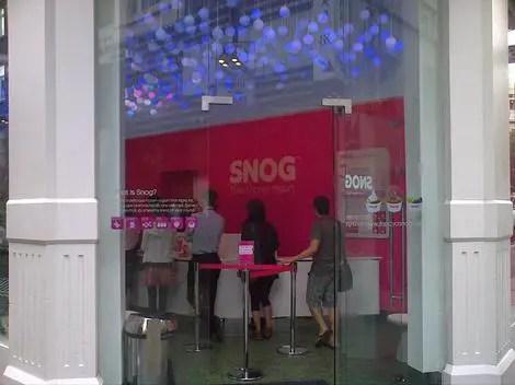 Snog entrance