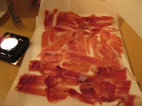 Iberica trio of ham