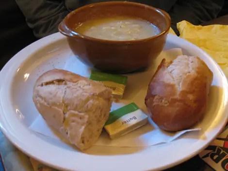 The mitre parsnip soup