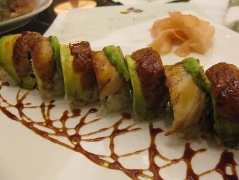 California grill sushi