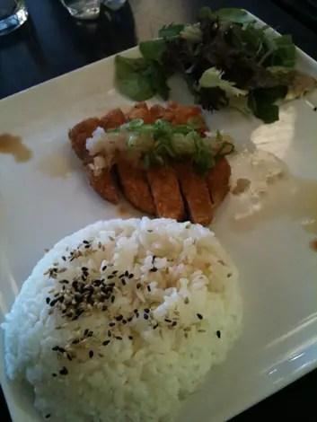 Tenshi chicken katsu
