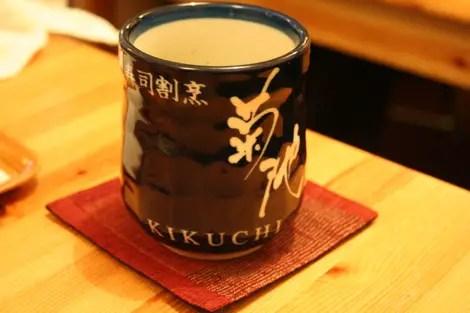 Kikuchi tea