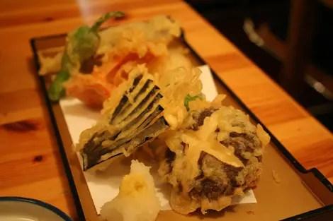 Kikuchi tempura
