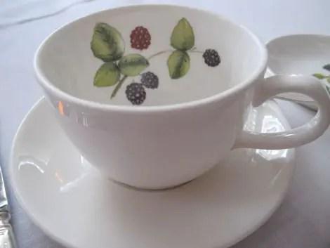 Tea at browns cup