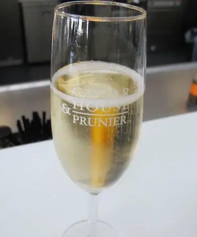 Caviar house champagne