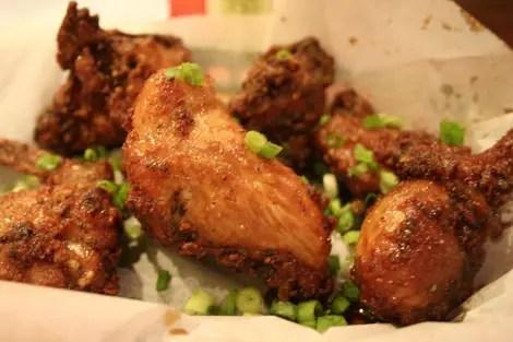 Crisp chicken