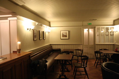 Rose and crown inside