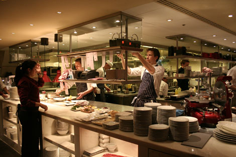 Bar boulud kitchen
