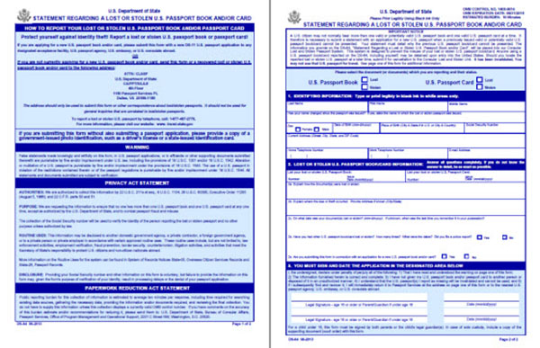 Essential Information On Us Passport Application Form Passport Guide