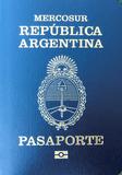Passport cover of Argentina