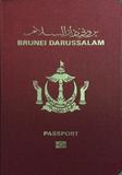 Passport cover of Brunei