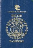 Passport cover of Belize