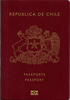 Passport cover of Chile