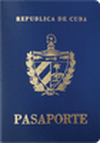 Passport cover of Cuba