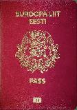Passport cover of Estonia