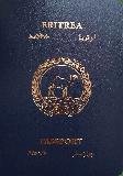 Passport cover of Eritrea