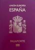 Passport cover of Spain MOST POWERFUL PASSPORT RANK