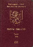 Passport cover of Finland