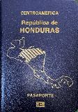 Passport cover of Honduras