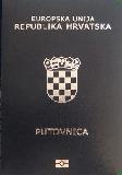 Passport cover of Croatia