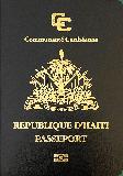 Passport cover of Haiti