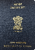 Passport cover of India