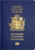 Passport cover of Iceland