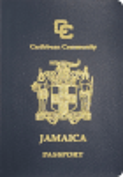 Passport cover of Jamaica