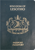 Passport cover of Lesotho