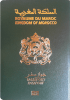 Passport cover of Morocco