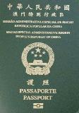 Passport cover of Macao