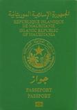 Passport cover of Mauritania