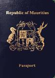 Passport cover of Mauritius