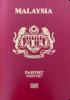 Passport cover of Malaysia MOST POWERFUL PASSPORT RANK