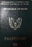 Passport cover of Niger